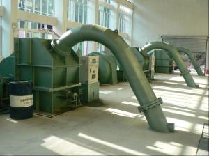 China Hydroelectric plant used twin-jet pelton turbine on sale