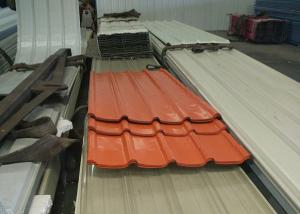 China OEM Corrugated Steel Roofing Sheets Color Steel Plate For Roof And Wall on sale