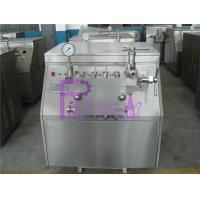 High Pressure Homogenizer Milk Juice Processing Equipment With Lubrication Cooling System