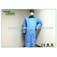 China Anti Permeate Soft Disposable Surgical Gowns For Hospitals Latex Free on sale