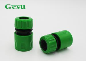China Durable Plastic Quick Connect Garden Hose Pipe Connectors For Watering Tools on sale