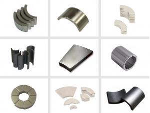 China High Strength Neodymium Motor Magnets Permanent Type For Audio Equipment on sale