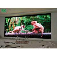 China High Definition RGB Led ScreenP6 Fixing Usage IP43 LED Advertising Display on sale
