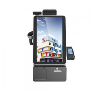 China 17 Touch Screen Information Kiosk With Thermal Receipt Printer / Interactive Kiosk on sale