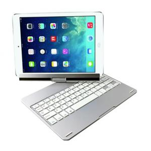 China Bluetooth Keyboard For iPad Air 360 Degree Rotate Aluminum Keyboard on sale