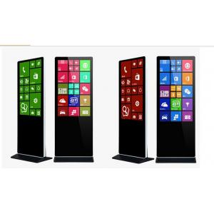 China Original Fhd 46 Inch Free Standing Digital Signage Kiosk , Android Lcd Ad Player on sale