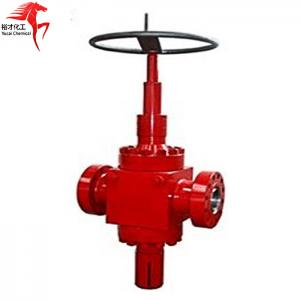 China FR ball screw gate valve fac gate valve H2 adjustable choke valve cage choke valve on sale