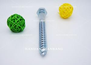 China Hex Head Wood Self Drilling Screws , Hexagonal Steel Self Tapping Screws OEM on sale
