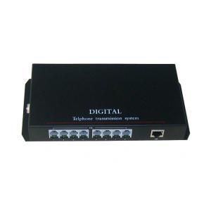 China 8 Port 5W HD SDI Repeater PCM Multiplexer Telephone To Fiber / Phone Line on sale