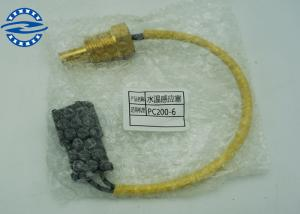 China Heavy Duty Excavator Water Fuel Temperature Temp Switch For Komatsu PC200 PC220-6 6D102 7861-92-3380 on sale