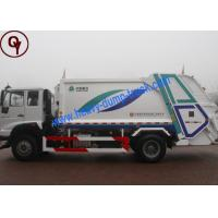 6x4 Power Wheel Garbage Collection Truck , 10 Tons Waste Management Vehicles