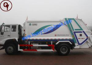China 6x4 Power Wheel Garbage Collection Truck , 10 Tons Waste Management Vehicles on sale