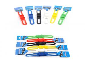 China Multifuction Colorful Flexible Silicone Elastic Bicycle Tie Strap ,Bike Silicone Band , Bike Strap on sale