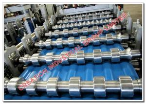 China Customized Cold Metal Roll Forming Machine for Roofing Sheet, Roof Tile, CZ Purlin, Floor Deck on sale