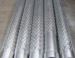 Bridge type water filter pipe/Spiral bridge water filter pipe/water well bridge slot screen