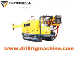 China Crawler Hydraulic Diamond Core Drill Rig For Exploration / Core Sample Drilling on sale
