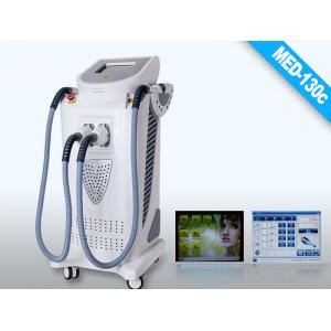 China White Gray E-light IPL RF 60Hz Intense Pulsed Light Hair Removal Laser Machines with 2000W on sale
