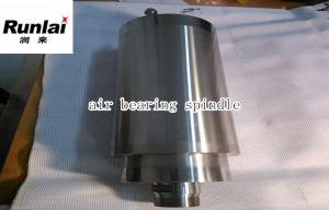 China 24000rpm Air Bearing Spindle , 400Hz Grease Lubricating Motorized Spindle on sale