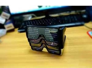 China Luminous eyeglasses rechargeble led glasses For party on sale