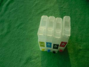 China Color C / M / Y /BK Plotter Refillable Printer Ink Cartridges for Epson Compatible on sale