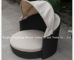China RATTAN PET FURNITURE &outdoor wicker pet bed on sale