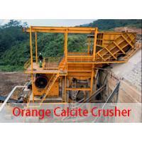 Orange calcite crusher for sale