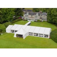 Portable Wedding Party Tent , Outdoor Heavy Duty Marquee Tent 15 X 20 Meter