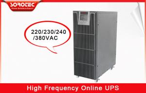 China High Efficiency Three Phase Pure Sine Wave Ups System 1KVA - 20KVA on sale