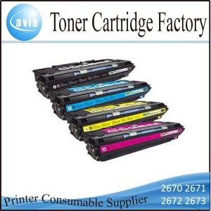 China Compatible Printer Toner Cartridge Q2670A Series for HP Laser Jet 3500 3550 on sale