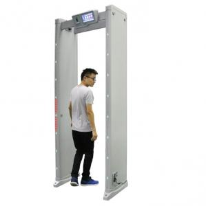 China Touch Screen Portable Walk Through Metal Detector Security Equipment For School , Airport on sale