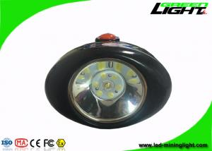 China Black Shell LED Mining Headlamp High Safety For Patrolling / Overhauling / Emergency on sale