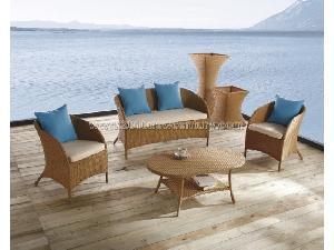 China Outdoor Furniture, Garden Furniture, Rattan Furniture, Wicker Furniture Sofa (6107) on sale
