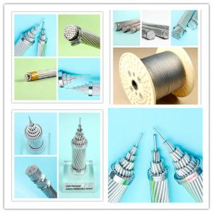 China Strong Steel Reinforced Electrical Cable , Single Stranded Wire Acsr Rabbit Conductor on sale