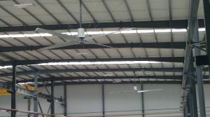 China Aluminium Alloy Blade Large Industrial Ceiling Fan 16 inch High Air Volume on sale