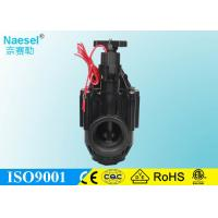 China 3 Plastic Industrial Solenoid Valve , Irrigation System 12 Volt Dc Solenoid Valve on sale