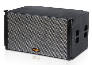 China Compact 2x18 Line Array Speakers with Titanium Compression Driver on sale