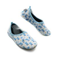 Indoor Flexible Hotel Room Slippers Unisex Customized Color Heat Transfer Print