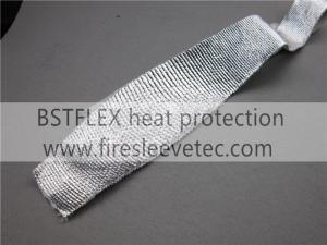 China cinta de aluminio reflexiva de la fibra de vidrio del calor on sale