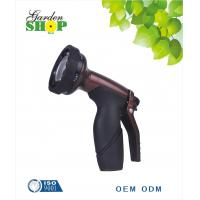 China 6 pattern garden water spray hose nozzle for gardening and lawn on sale