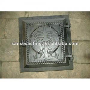 China cast iron fireplace door on sale