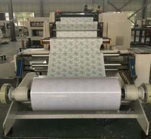Quality Roll Paper Die Punching Machine , Flatbed Die Cutter For Cup Cover Ice Cream for sale