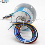 Stainless Steel Electrical Rotary Union 360 Degree Rotating 250RPM 5A 6 Circuits