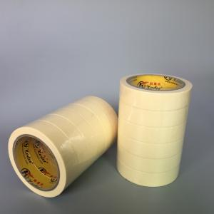 China Beige Color Economy Grade High Temp Masking Tape For General Purpose on sale
