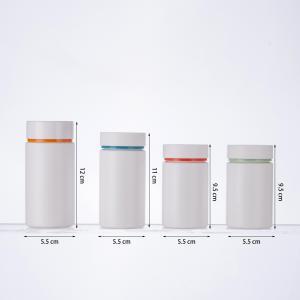 China 100cc Plastic Bottle Of Health Care Products 120ml Capsule Bottle 150g Qianlin Bottle Pressure Screw Cap Bottle Calcium on sale