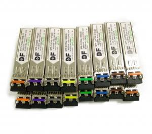 China 1.25G~10G 1270-1610nm sfp optical tranceiver DWDM sfp optical module 40-80km on sale