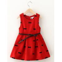 China Popular girl dress Children dress princess dress for childern dress wool skirt garment on sale