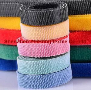 China Self-locking back to back hook loop wring harness cable ties on sale