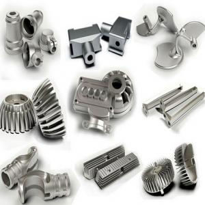 China Metal Aluminum Sand Casting Parts With Drawings , Standard Mechanical Components on sale