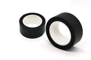China Light Blocking Black 32mm Washi Tape For Painting on sale