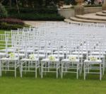 wholesale Good quality white resin chiavari chair strong and cheap resin chiavari chair for wedding/party outdoor use
